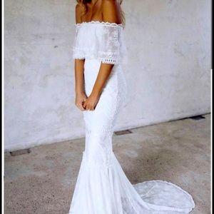 Grace Loves Lace Wedding Dress Size 0